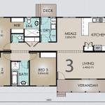 Single Storey House Model Floor Plans 128.3