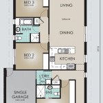 Single Storey House Model Floor Plans 149.3