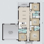 Single Storey Model 170.4 Floorplan