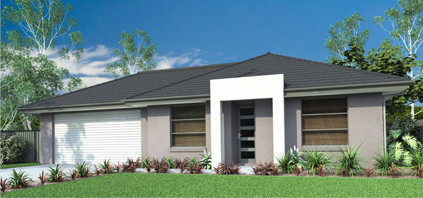 Single Storey Model House 170.4