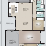Single Storey Model 179 Floorplan