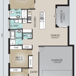 Single Storey Model 186.3 Floorplan