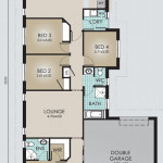 Single Storey Model 187.4 Floorplan