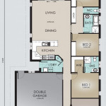 Single Storey Model 194.3 Floorplan