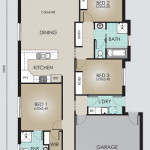 Single Storey Model 200.4 Floorplan