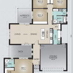 Single Storey Model 202.4 Floorplan
