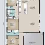 Single Storey Model 206.4 Floorplans