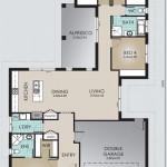 Single Storey Model 207.4 Floorplan
