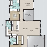 Single Storey Model 209.4 Floorplan