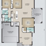 Single Storey Model 221.3 Floorplan