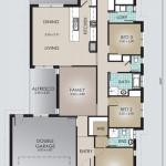 Single Storey Model 223.4 Floorplan