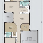 Single Storey Model 227.4 Floorplan