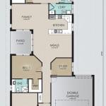 Single Storey Model 227.4 Floorplan