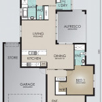 Single Storey Model 228.3 Floorplan