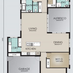 Single Storey Model 240.3 Floorplan