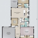 Single Storey Model 241.4 Floorplan