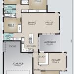 Single Storey Model 246.4 Floorplan