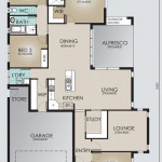 Single Storey Model 247.4 Floorplan