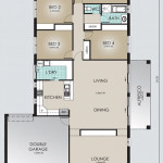 Single Storey Model 249.4 Floorplan