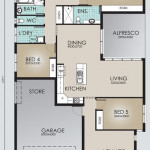 Single Storey Model 251.5 Floorplan