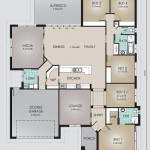 Single Storey Model 302.5 Floorplan