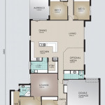Single Storey Model 310.5 Floorplan