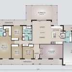 Single Storey Model 353.4 Floorplan