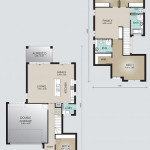 Double Storey Model 232.4 Floorplan