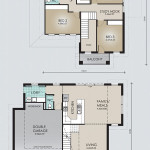 Double Storey Model 237.3 Floorplan