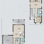Double Storey Model 244.4 Floorplan