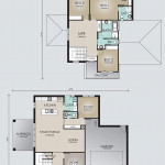 Double Storey Model 257.4 Floorplan