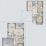 Double Storey Model 269.4 Floorplan