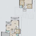 Double Storey Model 325.4 Floorplan