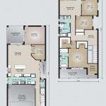 Double Storey Model 344.5 Floorplan