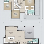 Double Storey Model 378.5 Floorplan