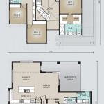 Double Storey Model 378.5 Floorplan