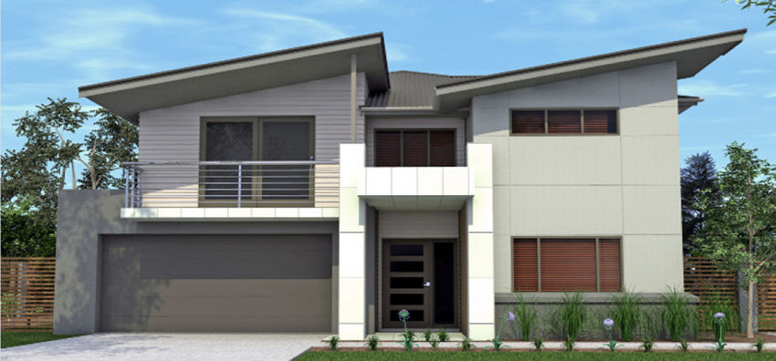 Custom Double Storey House Designs Mcmanus Builders
