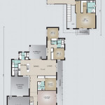 Double Storey Model 405.5 Floorplan