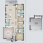 Split Storey Model 275.4 Floorplan